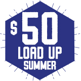 Load Up 50 Add On $50.00